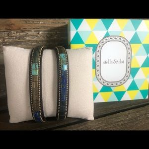 Stella & Dot River Wrap Bracelet